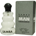 Samba Natural Man Eau De Toilette Spray 3.4 oz for men by Perfumers Workshop