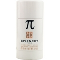 Pi Deodorant Stick Alcohol Free 2.7 oz for men by Givenchy