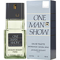 One Man Show Edt Spray 3.3 oz for men by Jacques Bogart