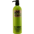 LOVE PEACE & THE PLANET Haircare door Tigi