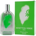 Benetton Verde Eau De Toilette Spray 3.4 oz for men by Benetton