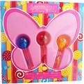 Mariah Carey Lollipop Bling Variety 3 Piece Mini Variety Set With Lollipop Bling Honey & Lollipop Bling Mine Again & Lollipop Bling Ribbon And All Are Eau De Parfum .27 oz Rollerball Minis for women by Mariah Carey