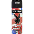 Playboy London Deodorant Body Spray 5 oz for men by Playboy