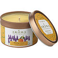 Relaxing Aromatherapy One 2.5x1.75 Inch Tin Soy Aromatherapy Candle.  Combines The Essential Oils Of Lavender And Tangerine To Create A Fragrance That Reduces Stress.  Burns Approx. 15 Hrs for unisex by Relaxing Aromatherapy