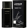 Lapidus Pour Homme Black Extreme Eau De Toilette Spray 3.4 oz for men by Ted Lapidus