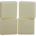 Amouage Reflection Soap 4 X 50g for women by Amouage