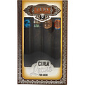 Cuba Latino Variety 4 Piece Mini Variety With Cuba Copacabana & Carnaval & Cactus & Maya & All Are Edt Spray 1.17 oz for men by Cuba