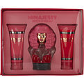 Nicki Minaj Minajesty Eau De Parfum Spray 3.4 oz & Body Lotion 3.4 oz & Shower Gel 3.4 oz for women by Nicki Minaj