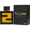 Fendi Fan Di Fendi Pour Homme Assoluto Eau De Toilette Spray 3.4 oz for men by Fendi