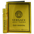 Versace Pour Femme Oud Oriental Eau De Parfum Vial Card for women by Gianni Versace