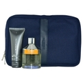 Pal Zileri Colonia Purissima Edt Spray 3.4 oz & Body Shampoo 2.5 oz & Travel Trousse for men by Pal Zileri
