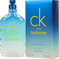Ck One Summer Eau De Toilette Spray 3.4 oz (Limited Edition 2015) for unisex by Calvin Klein