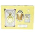 L'Air Du Temps Eau De Toilette Spray 3.3 oz & Body Lotion 3.3 oz & Eau De Toilette .14 oz Mini for women by Nina Ricci