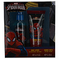 Spiderman Body Spray 5 oz & Shampoo Shower Gel 5 oz for men by Marvel
