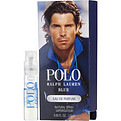 Polo Blue Eau De Parfum Spray Vial On Card for men by Ralph Lauren