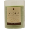 LIME BASIL SCENTED Candles z Lime Basil Scented
