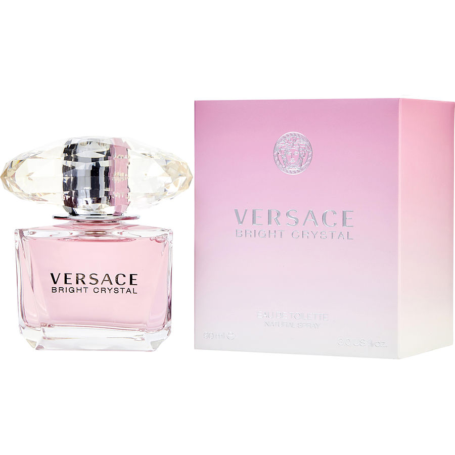 10 Scented Home Gift Ideas All Priced 10 And Under: Versace Bright Crystal Eau De Toilette