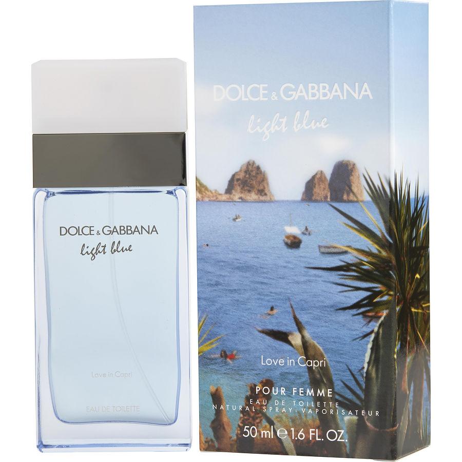 D Amp G Light Blue Love In Capri Eau De Toilette For Women