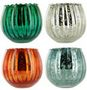 FLUTED MERCURY BOWL Candles per